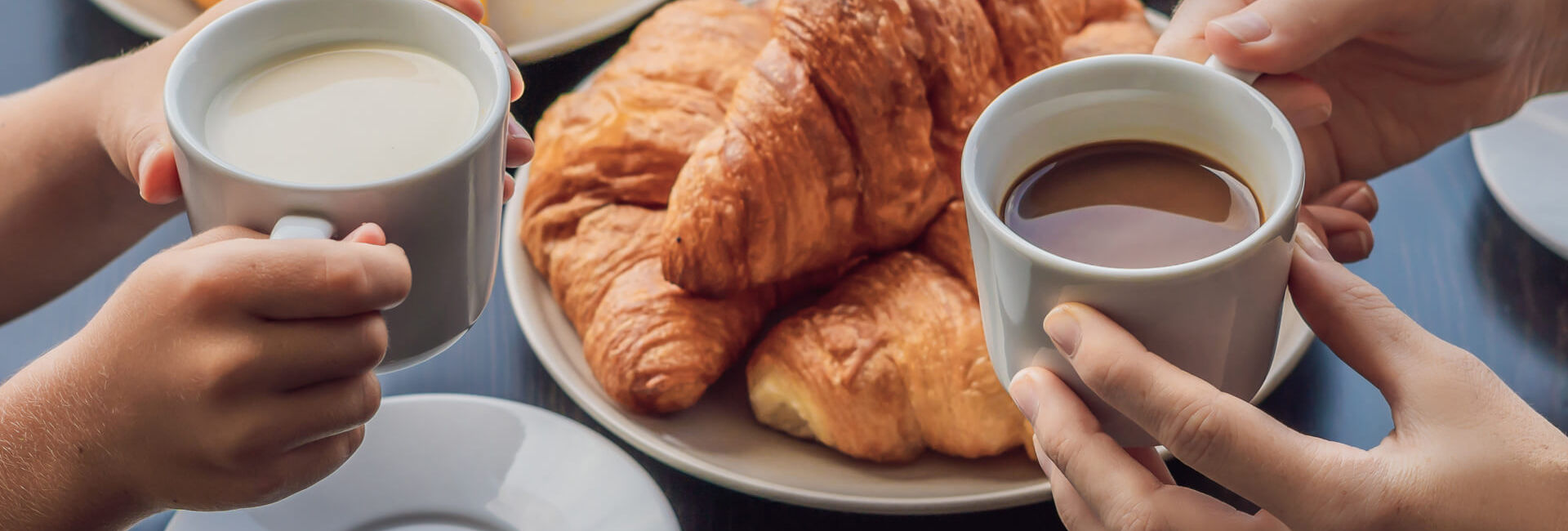 Coffee and croissants - Gasterij 't Karrewiel