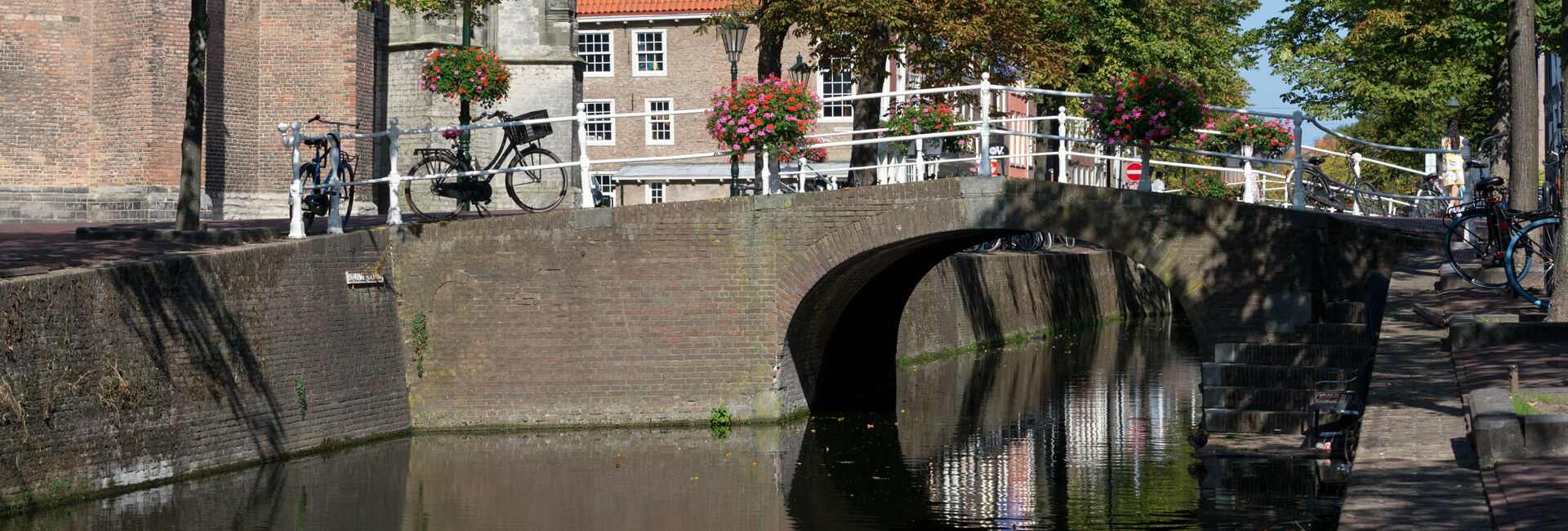 Canal and brige near The Old Church - Boat Puzzle Hunt