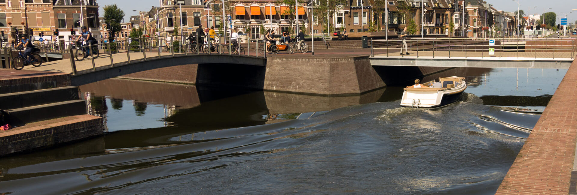 Near Delft station - Boat Puzzle Hunt